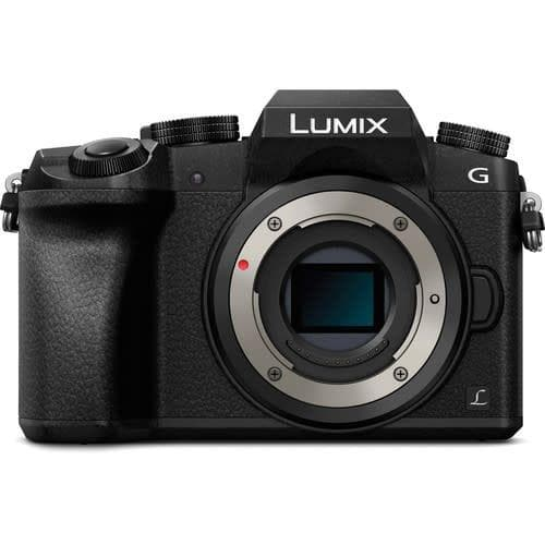Panasonic LUMIX DMC-G7 Mirrorless  Camera with 14-42 mm and 45-150MM Lens - Black