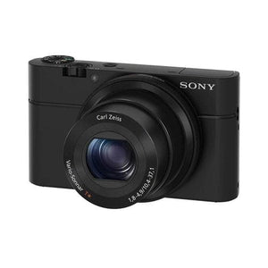 Sony DSC-RX100 Cyber-shot - Digital camera - 20.2 MP - 3.6x optical zoom