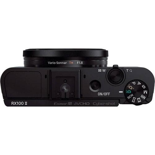 Sony DSC-RX100 II Cyber-shot - Digital camera - 20.2 MP - 3.6x optical zoom
