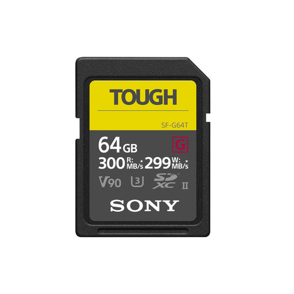 Sony SF-G series TOUGH SF-G64T