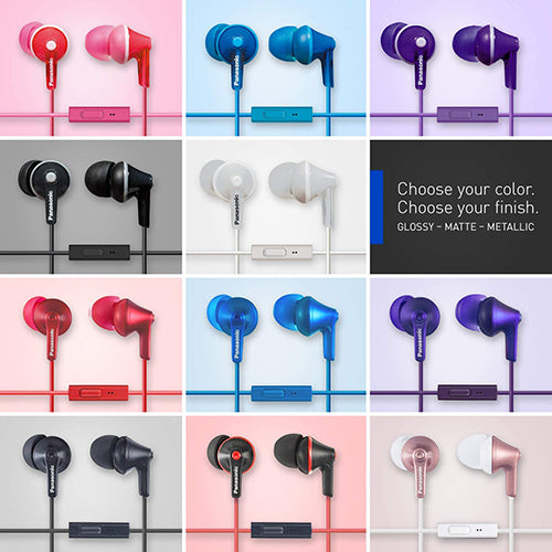 Panasonic RP-TCM125 In-Ear Buds w/ Mic & Remote