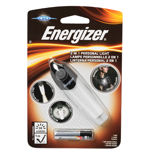 Energizer ENHFPL12E Hands Free 2-in-1 flashlight