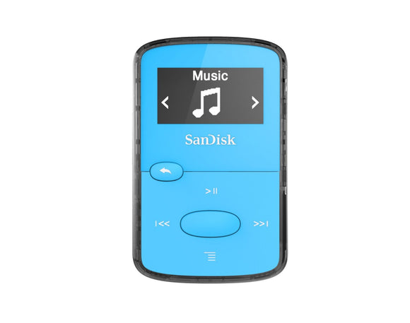 SanDisk MP3 Player Clip Jam 8GB Blue