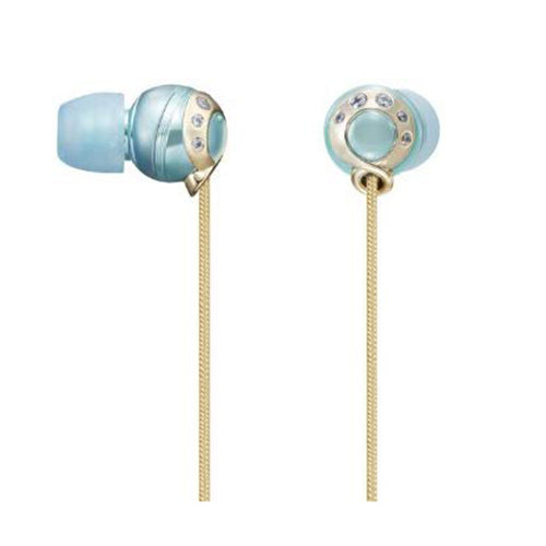 Sony MDR-EX80LP/L in ear headphones with swarovski - Blue