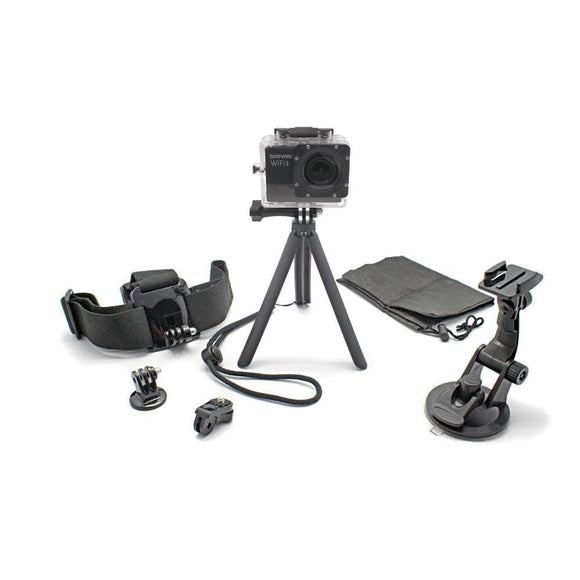 Optex 6-IN-1 ACTION CAMERA accessories kit