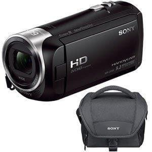 Sony Handycam HDR-CX405 - Camcorder - 1080p - 2.51 MP - 30x optical zoom - Carl Zeiss - flash card - black