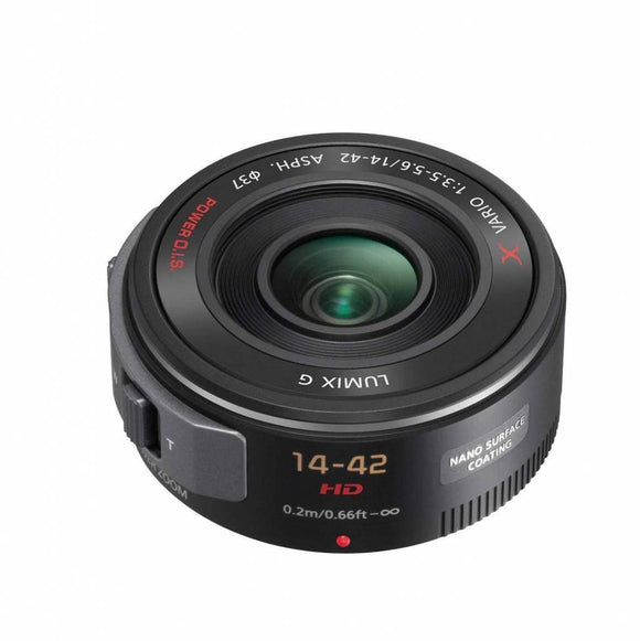 Panasonic H-PS14042K Lumix G X Vario Power Zoom Wide Angle Lens