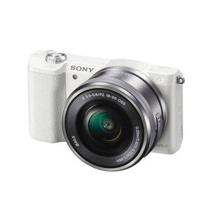 Sony Alpha a5100 ILCE5100L/W mirrorless Digital Camera with 16-50mm lens - white