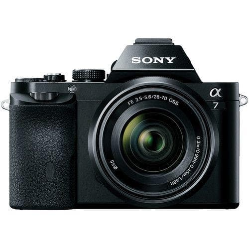Sony Alpha a7 ILCE7K/B Mirrorless Digital camera - Full Frame with 28-70mm lens