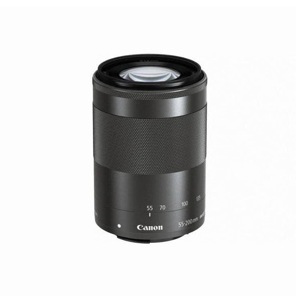 Canon EF-M 55-200mm f/4.5-6.3 IS STM Lens -Black