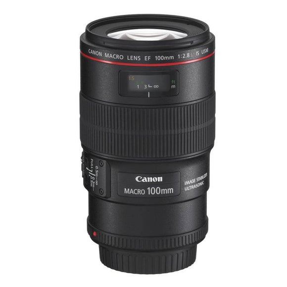 Canon EF 100mm F2.8L IS Macro Lens