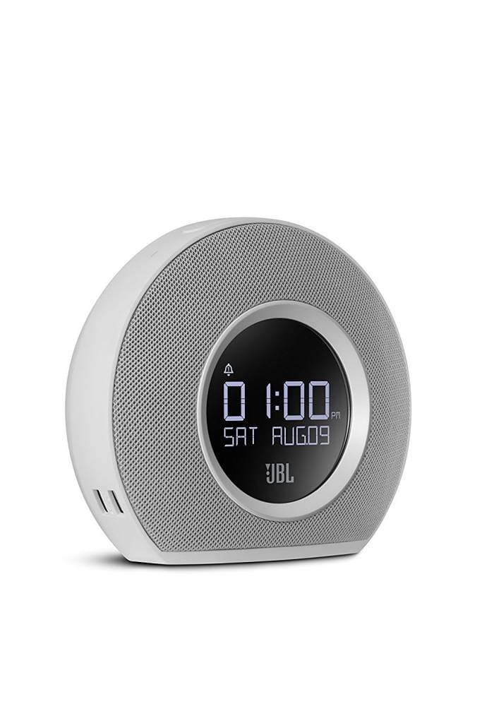 JBL JBL Horizon Bluetooth Clock Radio with Usb Charging and Ambient Light, White