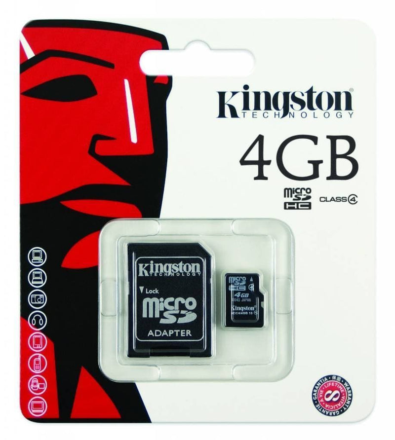 Kingston 4GB Micro SD Card