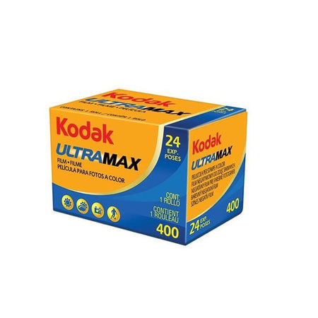 Kodak UltraMax 400 Color Negative Film (35mm Roll Film, 24 Exposures)