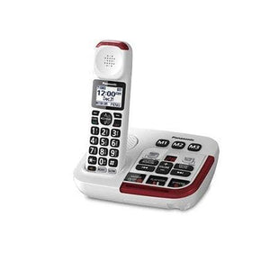 Panasonic KXTGM470W Cordless Phone - White