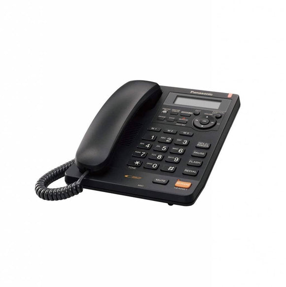 Panasonic KXTS620CB  Corded Phone with Caller ID, Black