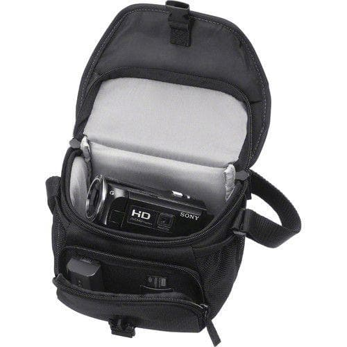 Sony LCS-U11 - Case for digital photo camera / camcorder - black