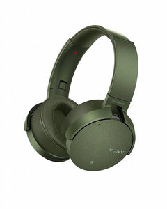 Sony MDR-XB950N1 - Headphones - on-ear - wireless - Bluetooth - active noise canceling - green