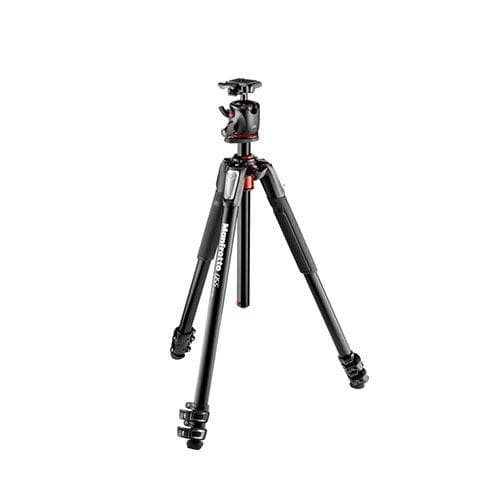 Manfrotto MK055XPRO3-BHQ2 Aluminum 3-Section Tripod with XPRO Ball Head and 200PL QR Plate