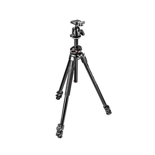 Manfrotto MK290DUA3-BH 290 Dual Aluminum Tripod with Ball Head Kit