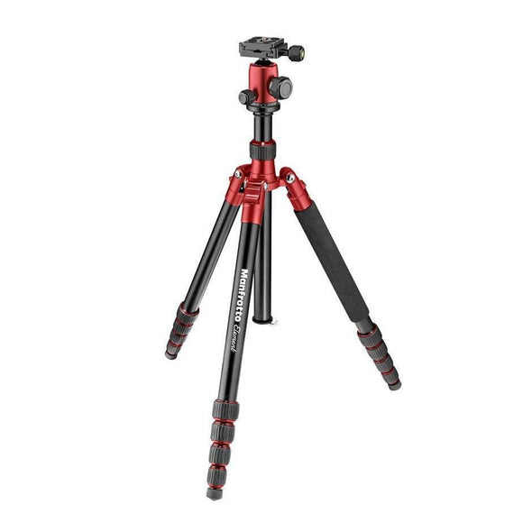 Manfrotto Element Small Tripod Kit with Ball Head - Red