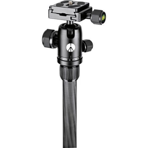 Manfrotto MKELES5CF-BH Element Traveler Carbon Fiber Tripod and Ball Head, Small-56.3""