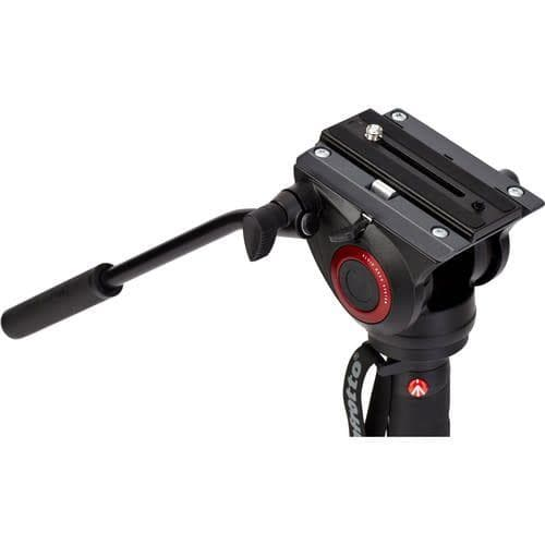 Manfrotto MVMXPRO500 Xpro Aluminum Video Monopod With 500 Series Video Head
