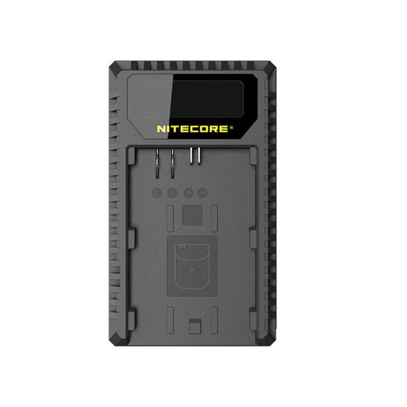 Nitecore UCN1 Dual slot Charger for Canon LP-E6, LP-E6N, and LP-E8 Batteries