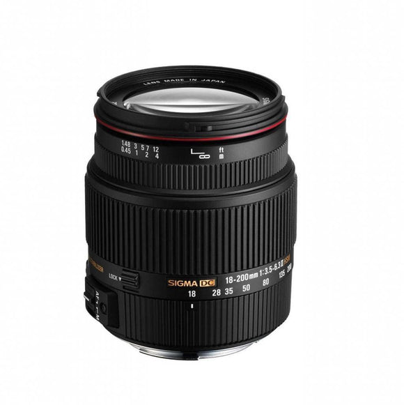 Sigma 18-200mm F3.5-6.3 II DC OS HSM Lens For Nikon