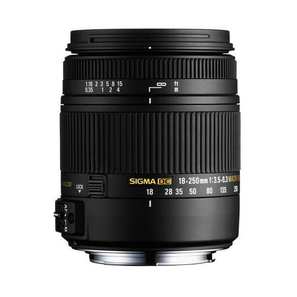 Sigma 18-250mm F/3.5-6.3 DC Macro OS II Lens for Canon