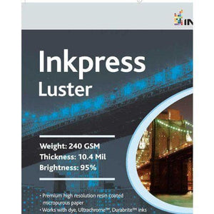 Inkpress PCL111420 Commercial Luster Inkjet Paper 11in. X 14in. 20 Sheets
