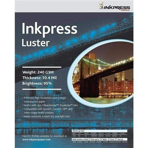 Inkpress PCL5750 Luster and Glossy 240 GSM ,5 x 7