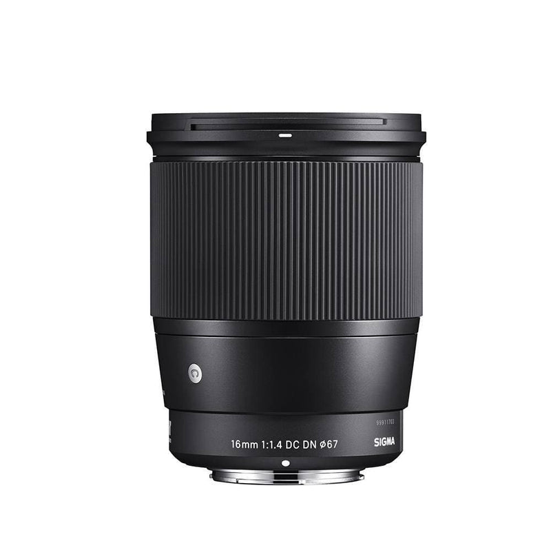 Sigma 16mm F1.4 DC DN Contemporary Lens for Sony E Mount