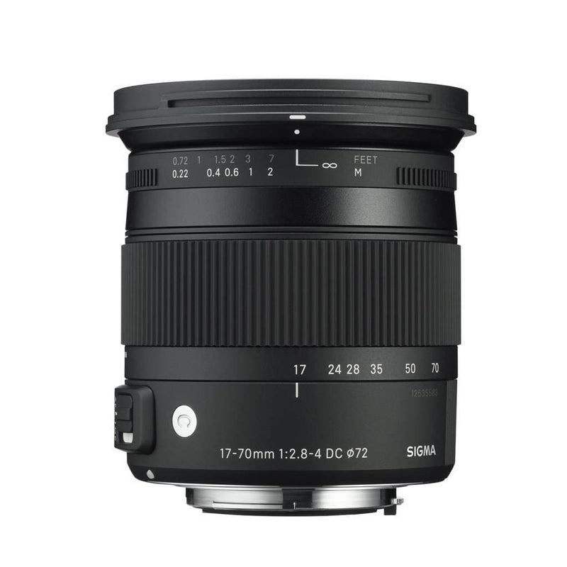 Sigma 17-70mm f/2.8-4 DC Macro OS HSM  Contemporary for Canon EF