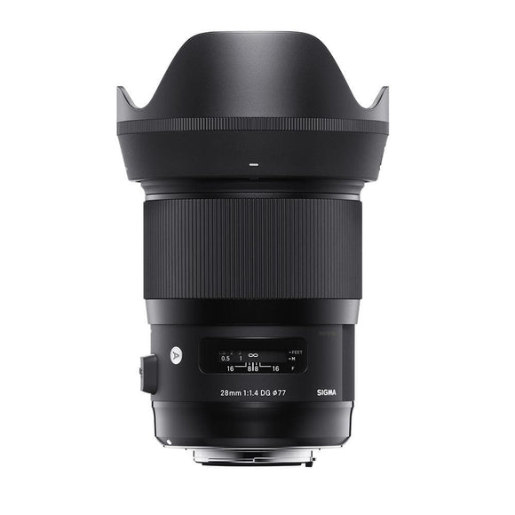 Sigma 28mm f1.4 DG HSM Art Lens for Nikon