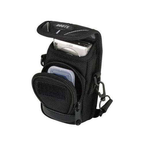Roots Executive Small Digital Camera Pouch - Black