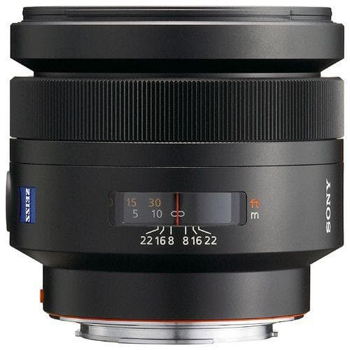 Sony SAL85F14Z - Telephoto lens - 85 mm - f/1.4 Planar T* - Sony A-Mount - Open Box