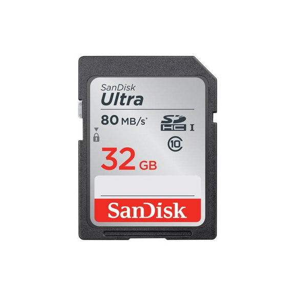 SanDisk Ultra SDHC UHS-I 32gb Memory card class 10