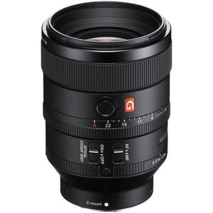 Sony SEL100F28GM G Master - Telephoto lens - 100 mm - f/2.8 FE STF GM OSS - Sony E-mount