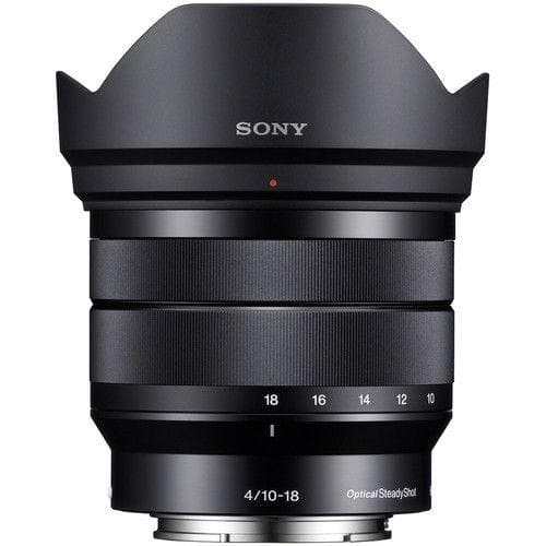 Sony SEL1018 - Wide-angle zoom lens - 10 mm - 18 mm - f/4.0 OSS - Sony E-mount