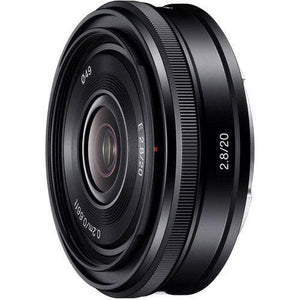 Sony SEL20F28 - Wide-angle lens - 20 mm - f/2.8 - Sony E-mount - for Handycam