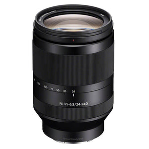 Sony SEL24240 - Zoom lens - 24 mm - 240 mm - f/3.5-6.3 FE OSS - Sony E-mount
