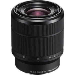 Sony SEL2870 - Zoom lens - 28 mm - 70 mm - f/3.5-5.6 FE OSS - Sony E-mount