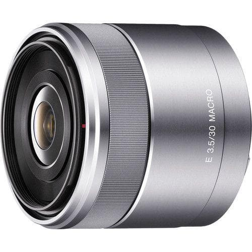 Sony SEL30M35  Macro lens  30 mm  f/3.5 silver for  Sony E-mount