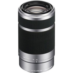 Sony SEL55210 - Telephoto zoom lens - 55 mm - 210 mm - f/4.5-6.3 OSS - Sony E-mount