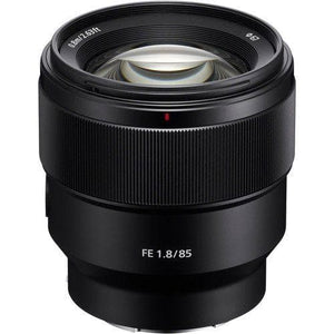 Sony SEL85F18 - Telephoto lens - 85 mm - f/1.8 - Sony E-mount