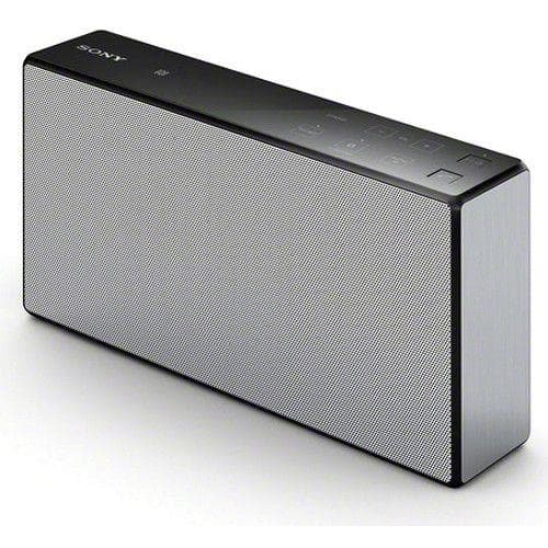 Sony SRSX55 Portable Wireless Speaker w/ NFC and Bluetooth /White