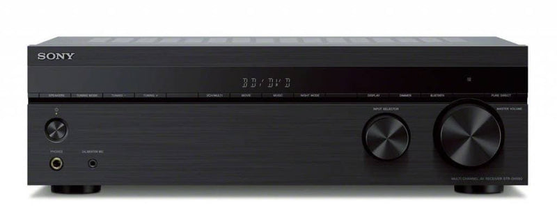 Sony STRDH590 5.2 multi-channel 4k HDR AV Receiver with Bluetooth Audio Component, Black
