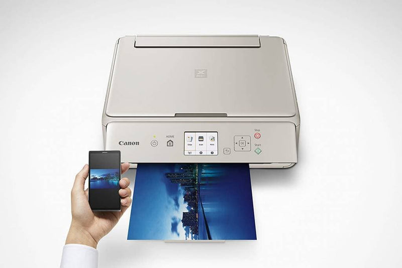 Canon TS5020 PIXMA  Wireless Inkjet All in One Printer, Gray