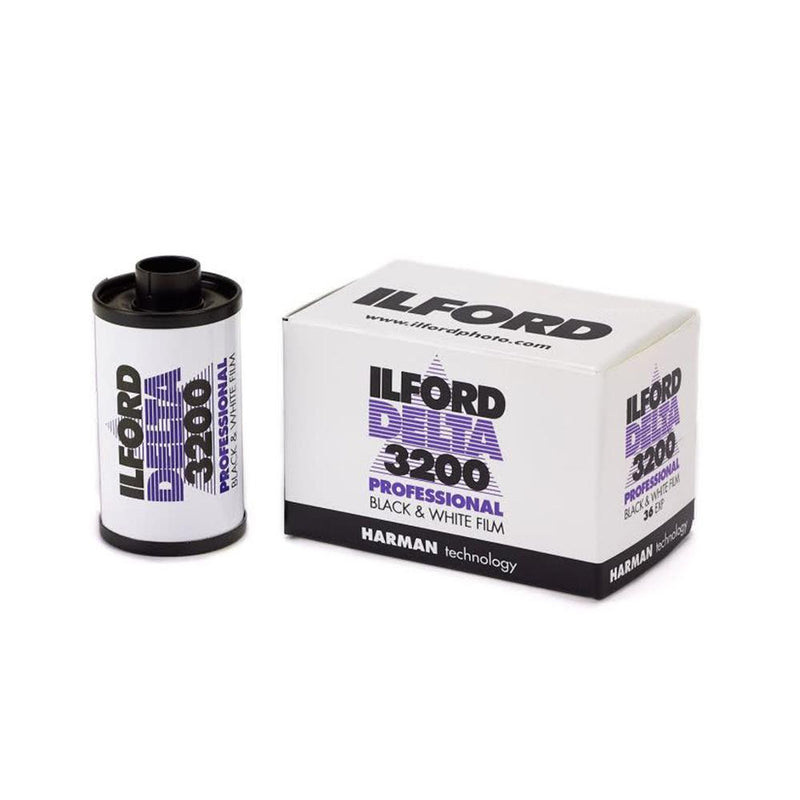 ILFORD Delta 3200 Professional Black and White35mm Negative Film - 36 Exposures